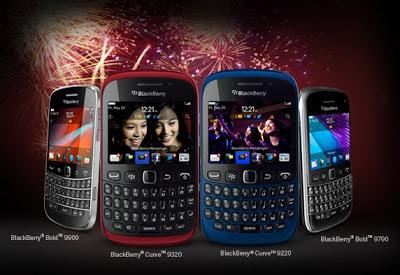 Blackberry Bold dan Curve