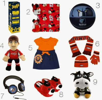 The Style Ref's 2013 Holiday Gift Guide for Sports Fan Kids