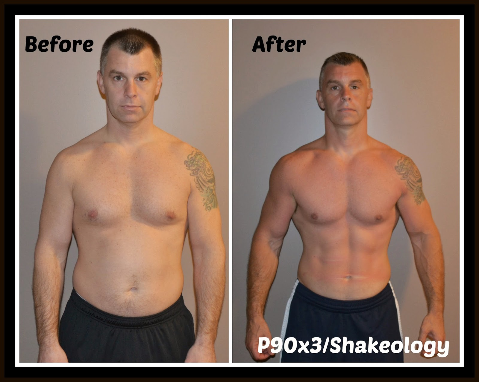 The Fit and Healthy Mama: P90x3 results: before and after ...