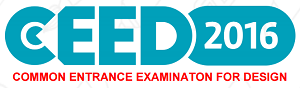 Common Entrance Examination for Design 2016 (CEED)
