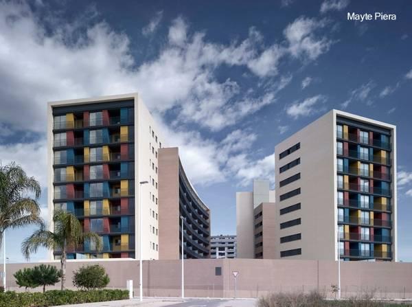 Arquitectura de casas edificios de apartamentos for Fachadas de apartamentos modernos