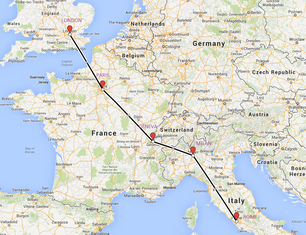 Milan To Rome >> Random Muse My Version Of The Grand Tour Of Europe
