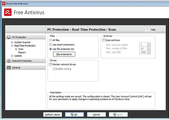 avira free antivirus for windows xp version 2002 service pack 2