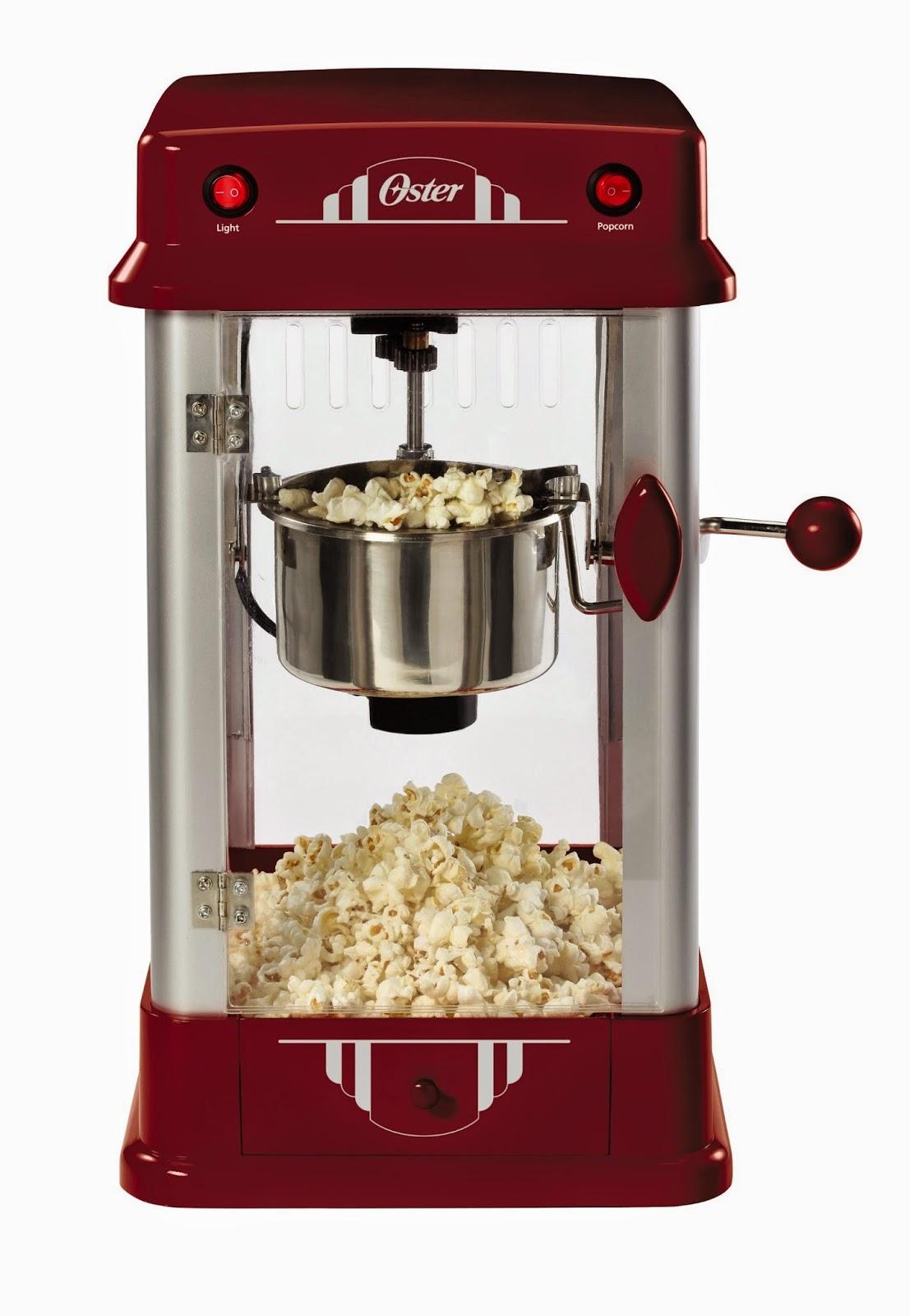 Cineman a popcorn maker de oster - Maquina para hacer deporte en casa ...