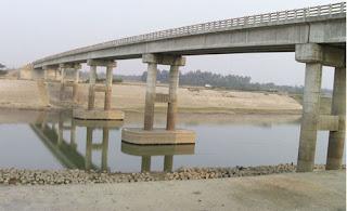 আনন্দে ভাসছে কানাইঘাট:সুরমার সেতু নির্মাণ কাজ সম্পন্ন
