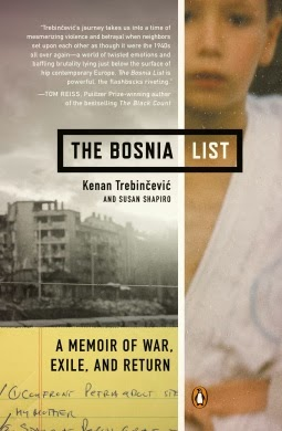 5/5 The Bosnia List A Memoir of War, Exile, and Return  Kenan Trebinčević
