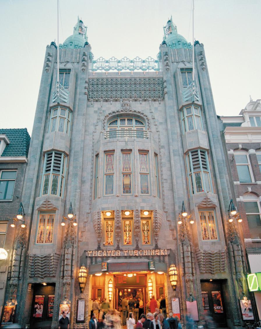 Deco Architektur café marquardt tuschinski filmtheater amsterdam