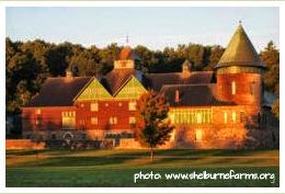 image of the barn house at Shelburne Farms