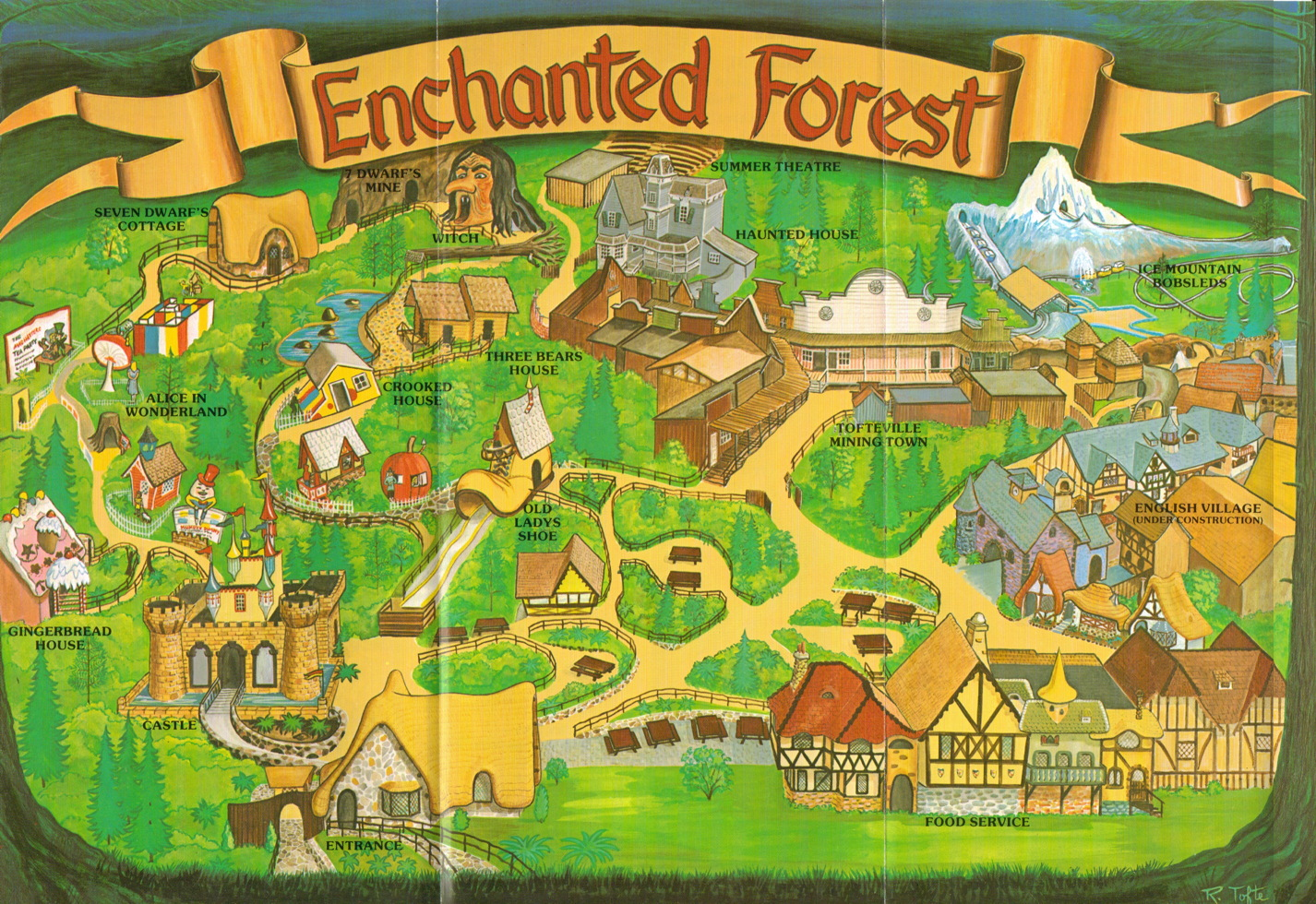 NewsPlusNotes From The Vault Enchanted Forest Brochure 1995