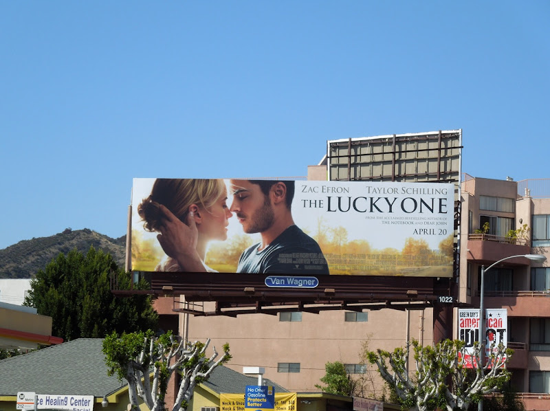 Zac Efron The Lucky One billboard