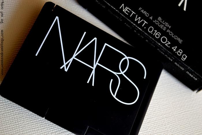 NARS Liberté Blush Summer Makeup 2012 Reviews Swatches Beauty Blog Looks FOTD Ingredients