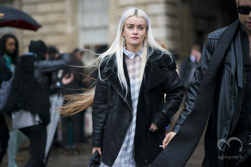 Stylist Vickie Doherty at Somerset House during London Fashion Week 2014 Fall Winter LFW