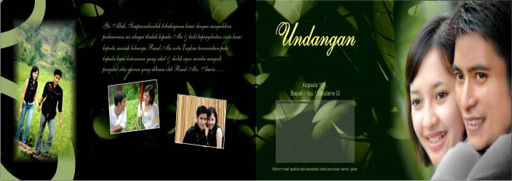 undangan pernikahan terbaru kartu ulang tahun dan undangan khitanan