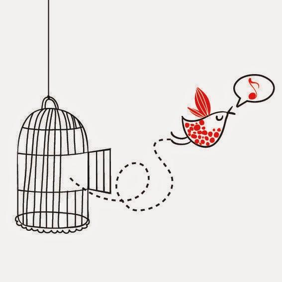 Libertad es: abrir la jaula.