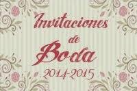 Invitaciones de Boda 2014-2015