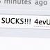 Internet Explorer habla mal de si mismo.