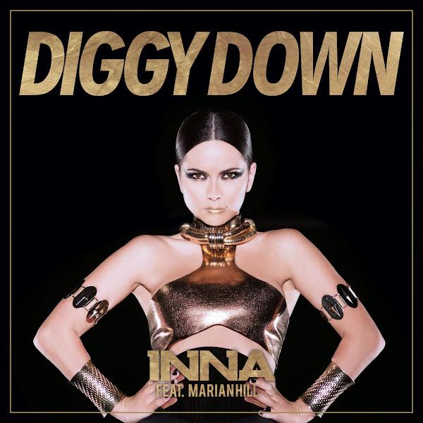 Inna & Marian Hill - Diggy Down (feat. Marian Hill) - Single  Cover