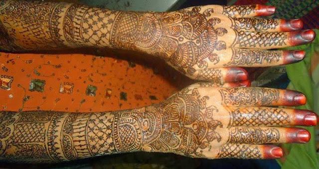 Mehndi Designs From Around The Globe