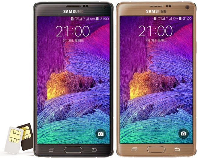 Harga dan spesifikasi Samsung Galaxy Note 4 Duos