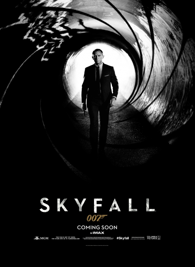 Skyfall 2012 Movie,Poster