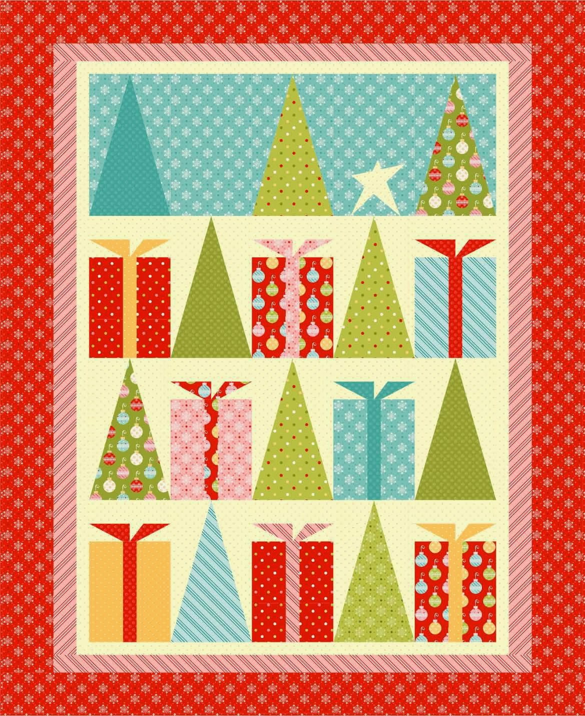 Quilting Patterns Xmas Free : Quilt Inspiration: Free pattern day! Christmas: Part 2