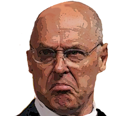 Hank Paulson Drawing