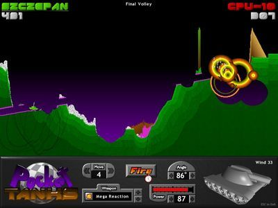 Pocket Tanks Deluxe Free