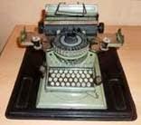 Machine à écrire Gescha
