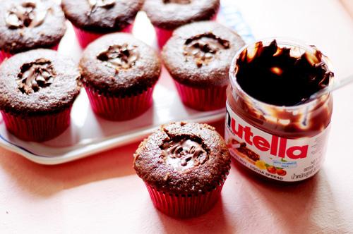 Cupcake Nutella Receita
