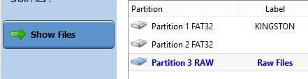 Pendrive não está formatada - formato Raw