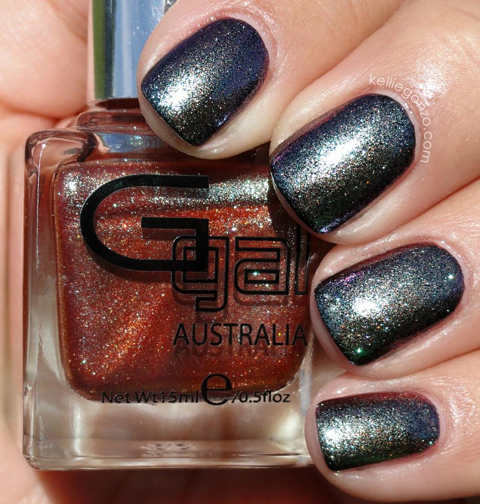 KellieGonzo: Glitter Gal Australia New Polish Lines