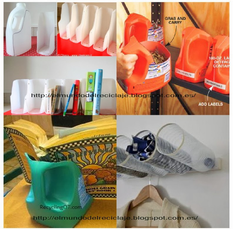 Como reciclar botellas de plastico - Imagui