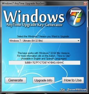 windows 7 crack key generator