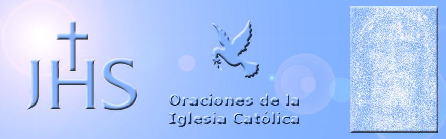 Oraciones de la Iglesia Católica
