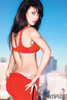 Olga Kurylenko show of her athletic body in Complex magazine October/November 2012 - Beautiful Female Photos
