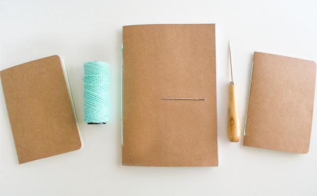 Libretas hechas a mano