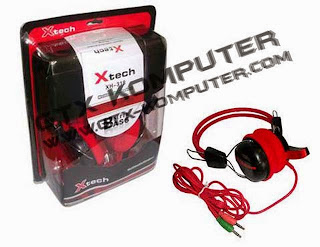 Headset X-Tech XH 318