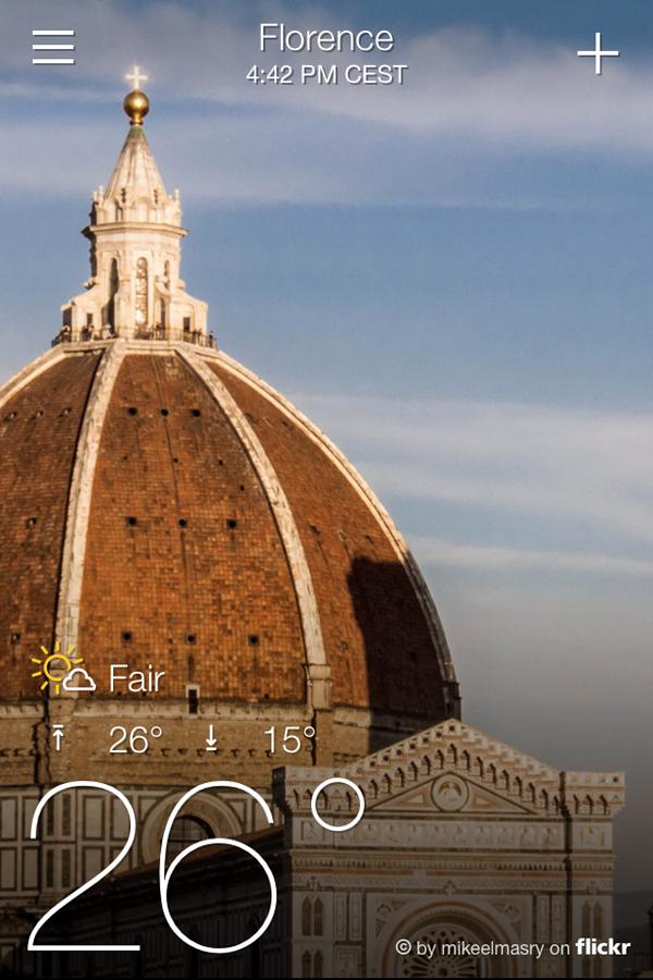 Погода во Флоренции
