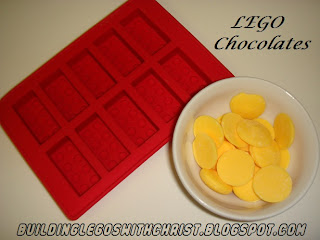 The Ultimate LEGO party favor, LEGO Chocolate treats, LEGO Weekly Product Review