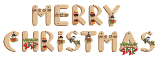 Merry Christmas-Wood