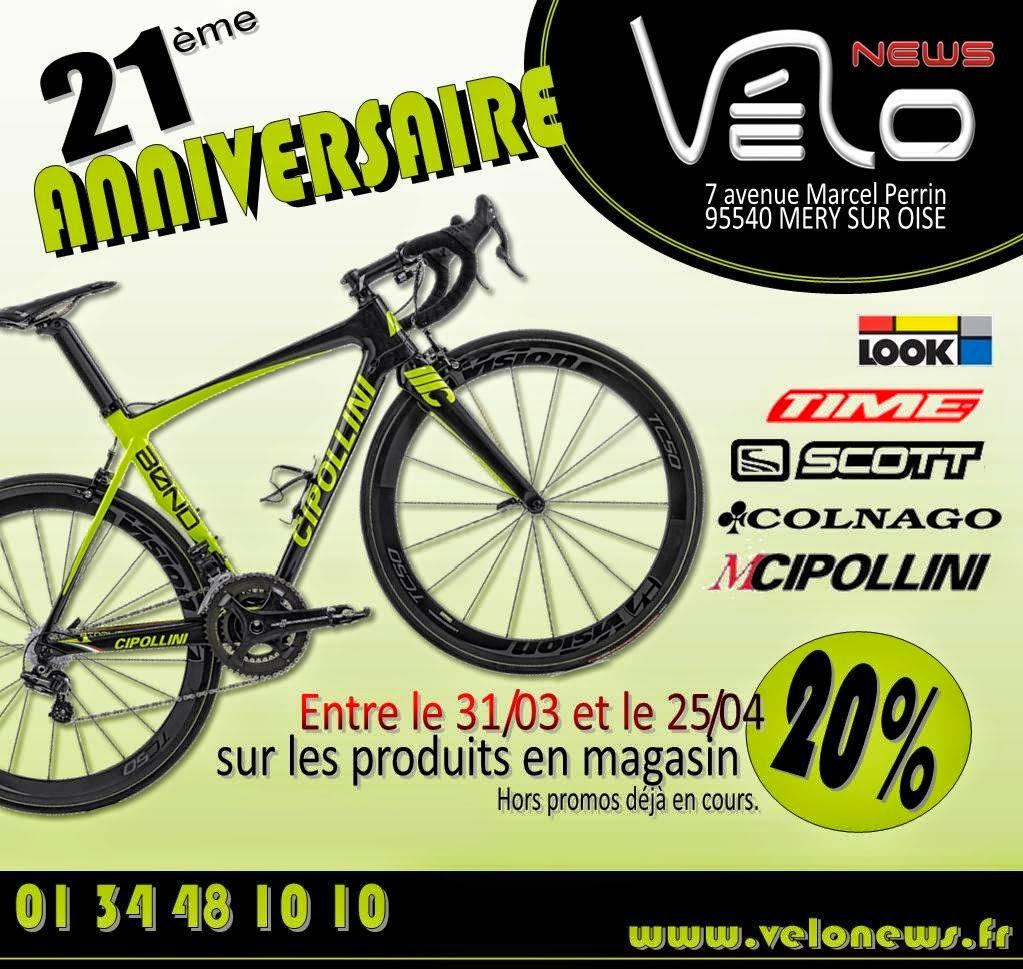 21ème anniversaire Vélonews