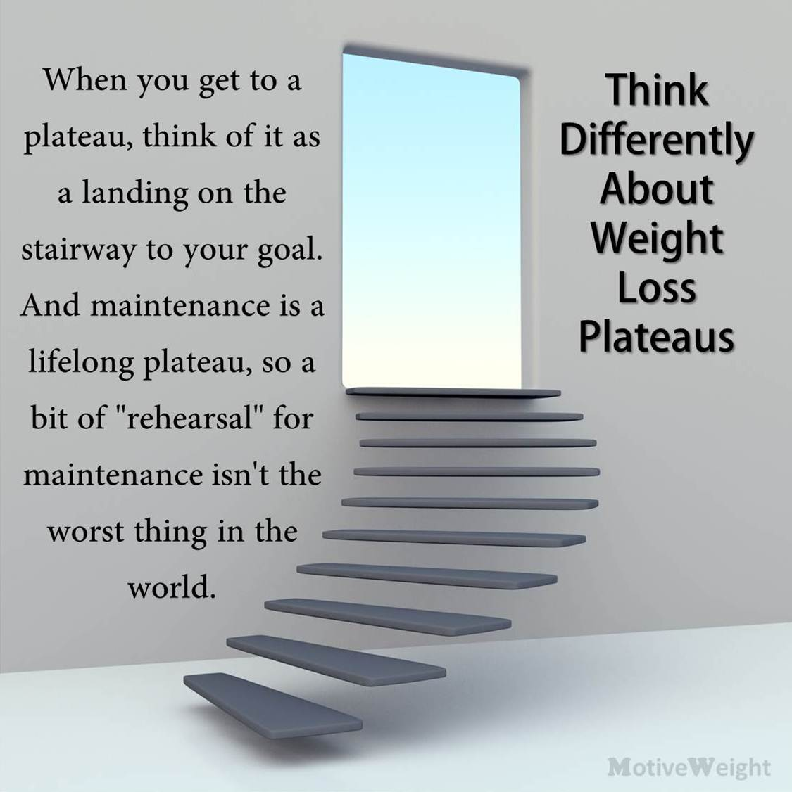 MotiveWeight: Think Differently About Weight Loss Plateaus