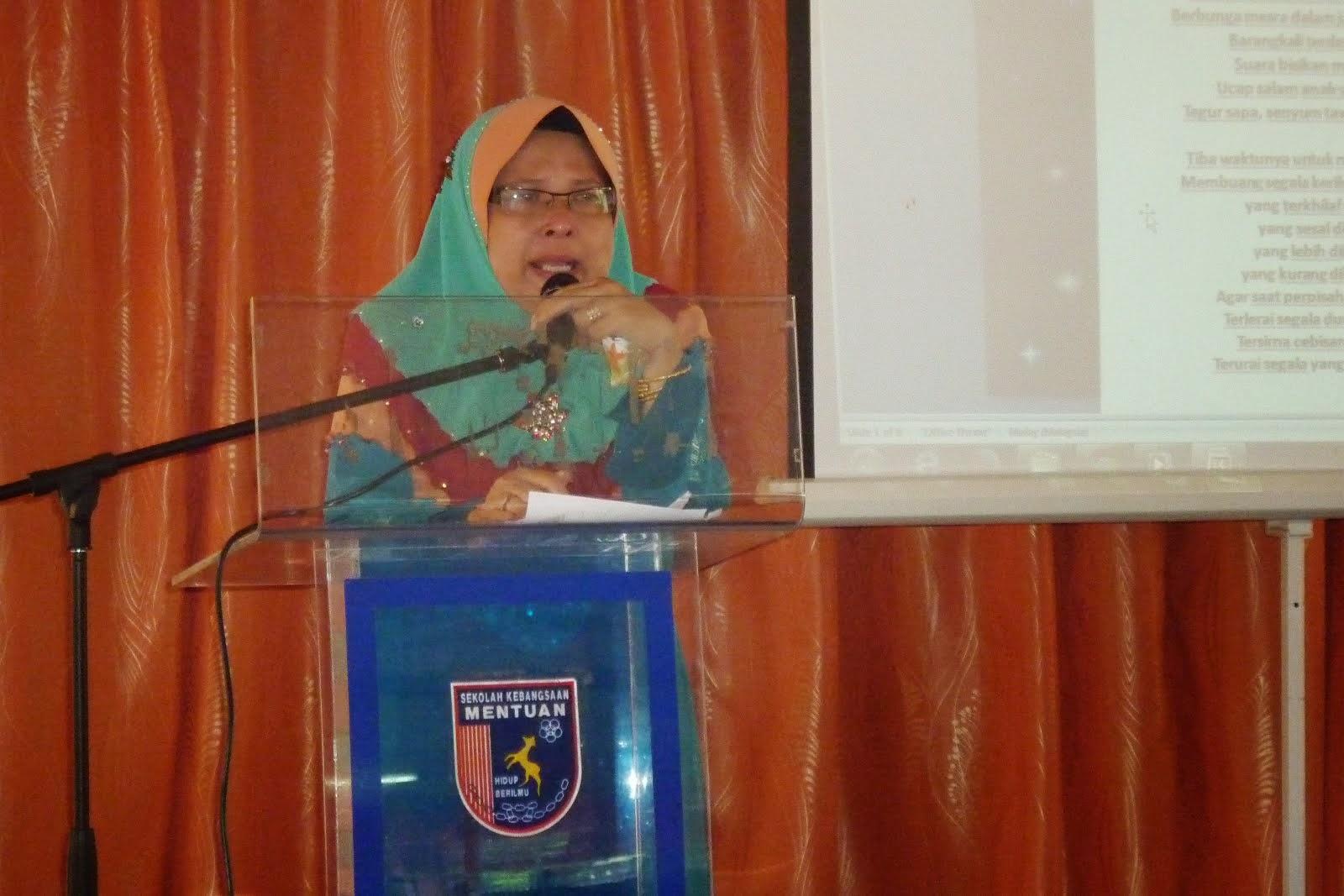 Pn. Hjh. Siti Minah Bt Yusoff (PK HEM) bersara pada 6 Mei 2014