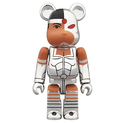 Cyborg New Teen Titans DC Universe 100% Be@rbrick by Medicom