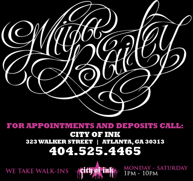 "City of Ink's ""Miya Bailey"""