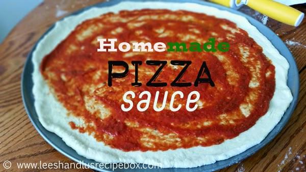 Leesh & Lu's Recipe Box: Classic Homemade Pizza Sauce ...
