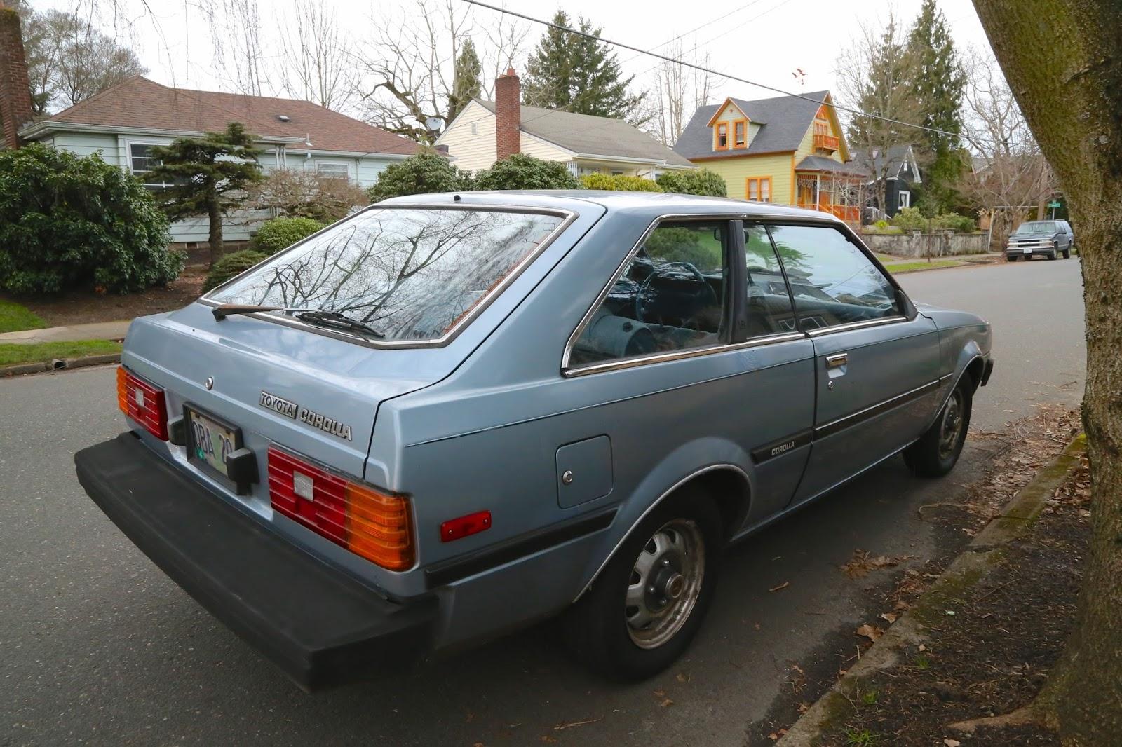1982 toyota corolla liftback