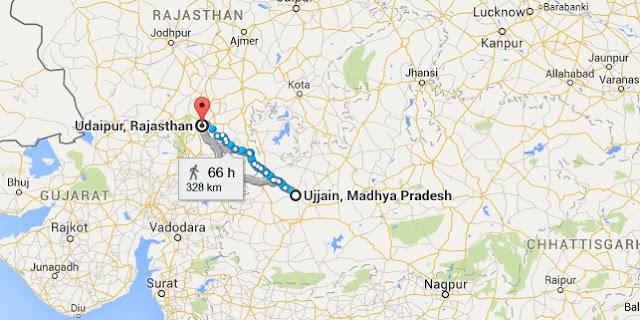 Migration of Brahmins as per Bhavihita Grants in 654 AD Map