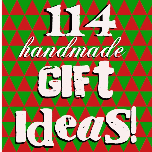 Doodlecraft 114 homemade christmas gift ideas for Easy gift ideas