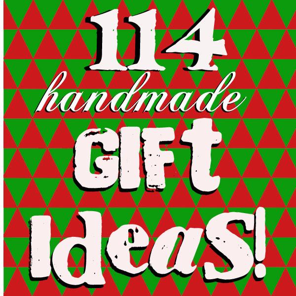 Doodlecraft 114 Homemade Christmas Gift Ideas
